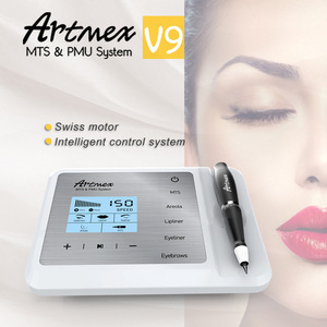 Tattoo Machine MTS/PMU Semi Permanent Makeup machine for Eyebrow Lip Beauty Artmex V9