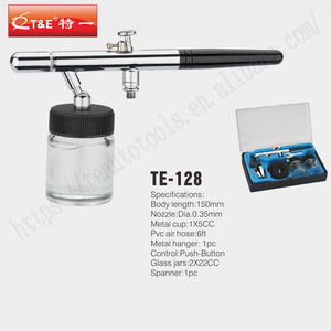 T&E home use professional portable cordless makeup airbrush home use airbrush