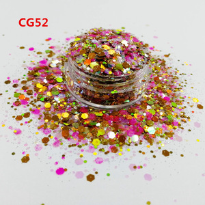 wholesale top polyester bulk holo cosmetic glitter, chunky body glitter