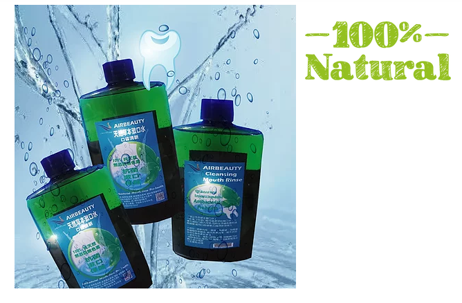 Mouthwash Taiwan Spring Water  Natural Herbal Extract