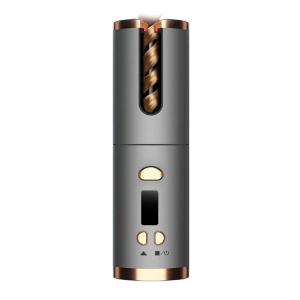 2021 hot sale amazon ceramic electric auto wireless cordless hair curler automatic hair curler hair curler