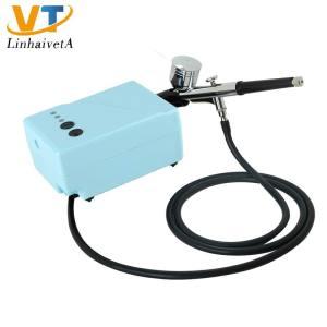 AC-10WD163 mini air brush gun compressor tattoo machine set cake airbrush kit
