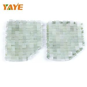 Factory Supply 2019 Trending Products Cooling Natural Facial Jade Sleep Eye Mask For Beauty