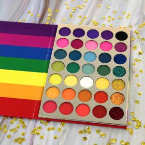 HOT SALE  high  quality  custom  35 colors  eyeshadow palette,eyeshadow palette
