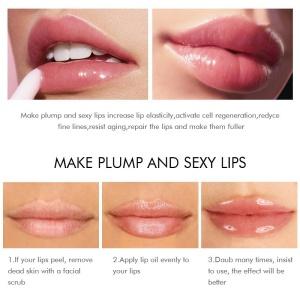 KISS BEAUTY 70242 Lip Gloss Oil Set Cute Lipgloss Private Label Cosmetic Clear Peach Lip Gloss