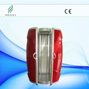 Most luxury home solarium tanning machine/bed with 50pcs German UV lamp tube