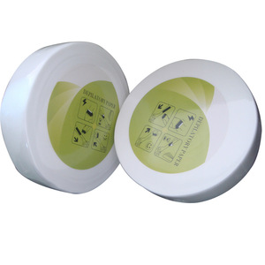 Non woven depilatory wax paper , good sale Disposable epilation strips roll /hair removal wax paper roll