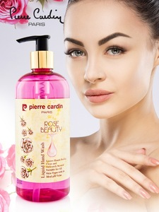 Pierre Cardin Rose Liquid Hand Wash 400ML Enriched With Rose Extracts