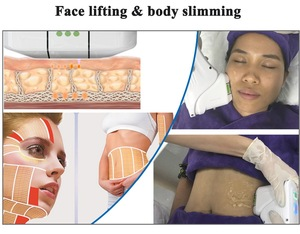 Top Beauty Beauty salon 2D 3D HIFU 11 lines anti-wrinkle body slimming machine