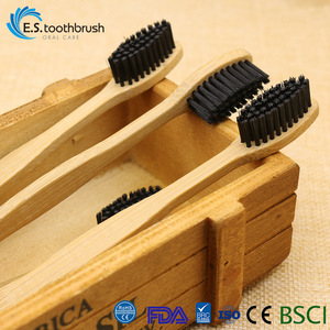 Wholesale Private Label Eco Friendly Bristle Custom Bamboo Charcoal