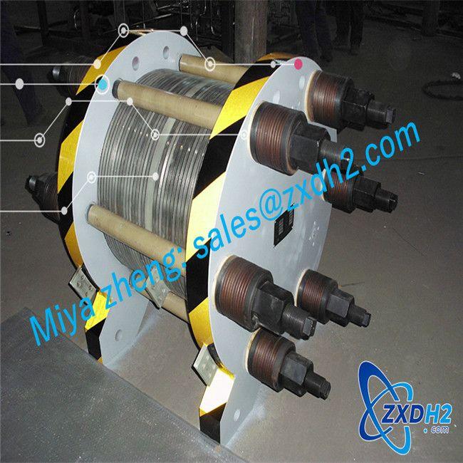 High pressure industrial hydrogen generator