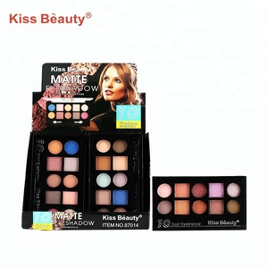 10 Colors women eyes beauty silky smooth cosmetics makeup private label neutral matte eyeshadow palette