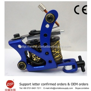 CE approval Rechargeable permanent makeup tattoo machine rotary tattoo machine