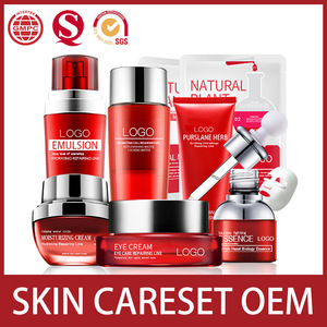 Cosmeceutical Herbal SKin Care Set GMP Factory OEM Cosmetics