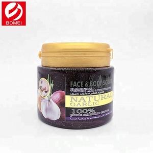 Custom skin exfoliating repairing face body scrub dead skin removal cream