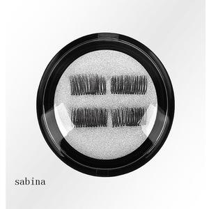Double magnet false eyelash. Quickly paste traceless