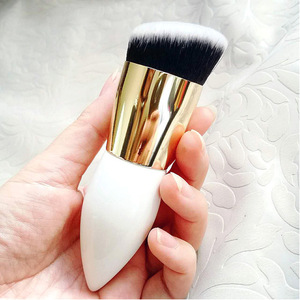 Factory Wholesale Custom Logo woodHandle  make up brushes beauty eye face tool Professional