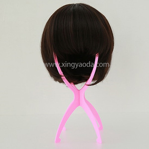 Human Hair Extensions Tools Accessories Dedicated Plastic Wig Bracket