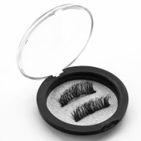 Soft Mink False Eyelash High Quality and Private Label 3 Full Strip Magnetic Lashes