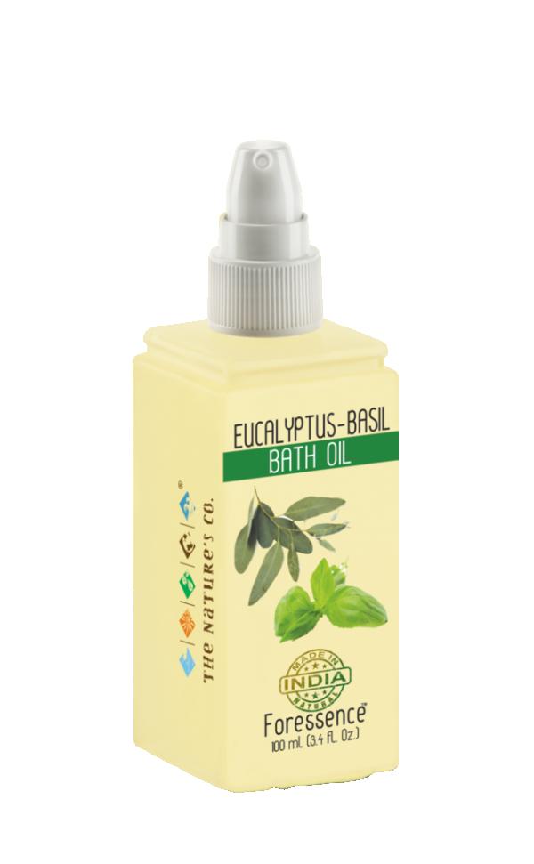 The Natures Co. Eucalyptus -basil bath oil