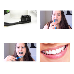 Activated coconut Charcoal Toothpaste Natural Fresh Teeth Whitening Toothpaste