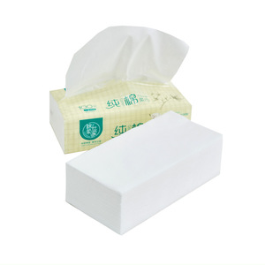 CE approved Custom 20*20cm disposable dry soft cotton facial tissue