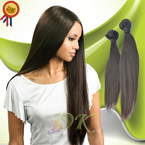 Diamond Hair Wxtensions Straight Malaysian Human Virgin Hair Digital Perm Machine