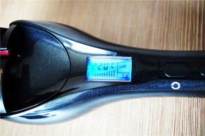 Digital perm tools hair salon curler customization private label black color