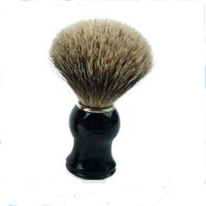 Hand Crafted Badger Hair Knots 100% Pure Badger Shaving Brush with Hard Wood Handle