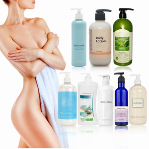 OEM service customized with your branded natural organic skin care product portable mini body lotion