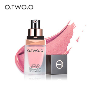 O.TWO.O Brand Makeup Blush 5 Color Long Lasting Waterproof Liquid Blush