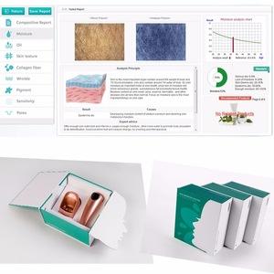 portable facial skin scanner analyzer