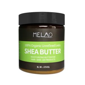 Private Label Organic Coconut Shea Butter  Oil Body Lotion