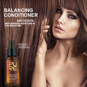 Wholesale PURC balancing conditioner spray anti-static and replenishes moisture in the meantime hair care and Scalp Treatments
