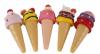 2021 New Style ice cream moisturizing lip gloss vendor with custom lip balm