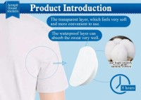 Absorbent stop excessive perspiration disposable underarm armpit sweat pads for sweating OEM Dress Shield