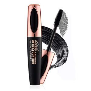 2018 New Makeup Black Waterproof Thick Long 4D Silk Fiber EyeLash Extension Mascara