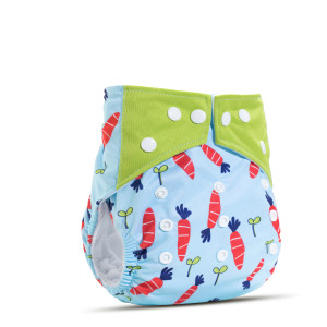 Baby Washable Diaper Pants Fit 1-12 months Babies Eco-friendly Cloth Diaper