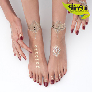 Color Temporary Tattoo Stencil For Painting Body Art Temporary Waterproof Glitter Metal Gold Loves Color Tattoos Cangnan Jinsui Crafts Co Ltd Beautetrade