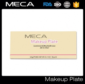 Face makeup palette highlighter,blush and bronzer combo powder palette for makeup facial cosmetics makeup products