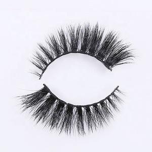 Hot sales natural looking false eyelashes silk eyelashes 3d mink eyelashes