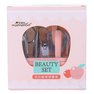 Lameila wholesale cosmetic nail tool 9 piece nail clip nail file manicure tools sets makeup products