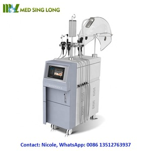 MSLOX05 hyperbaric oxygen facial machine, oxygen injection jet peel facial rejuvenation
