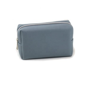 OEM cosmetic bag PU leather small cosmetic bag waterproof high capacity toiletry bag for makeup