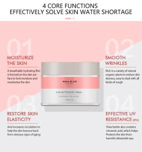 Oem/Odm Glow It All Brand Sulfate Free The Best Skin Care Bleaching Whitening Cream Body Base