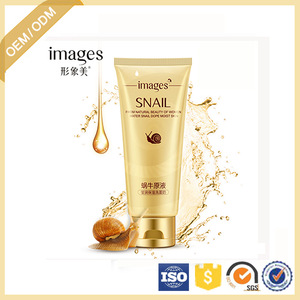OEM/ODM Images moisturizing nourishing Snail Essence Facial Cleanser For face care