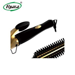 RYACA professional salon ceramic coated magic hair curler