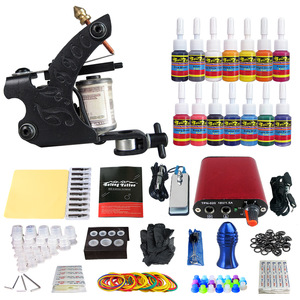 Solong  hot sale  Cheap  Permanent Makeup tattoo gun professional beginner tattoo kit