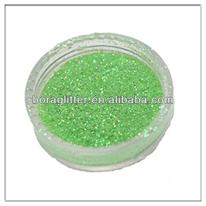Water-soluble 1/256 Pure Pearl Green Powder