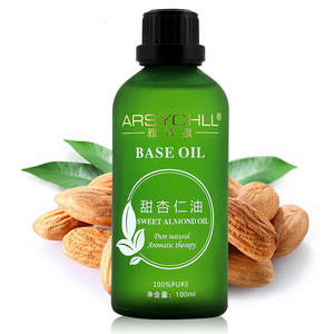 Wholesale Natural 100% Sweet Almond Carrier Oil Base Oil With Private Label
